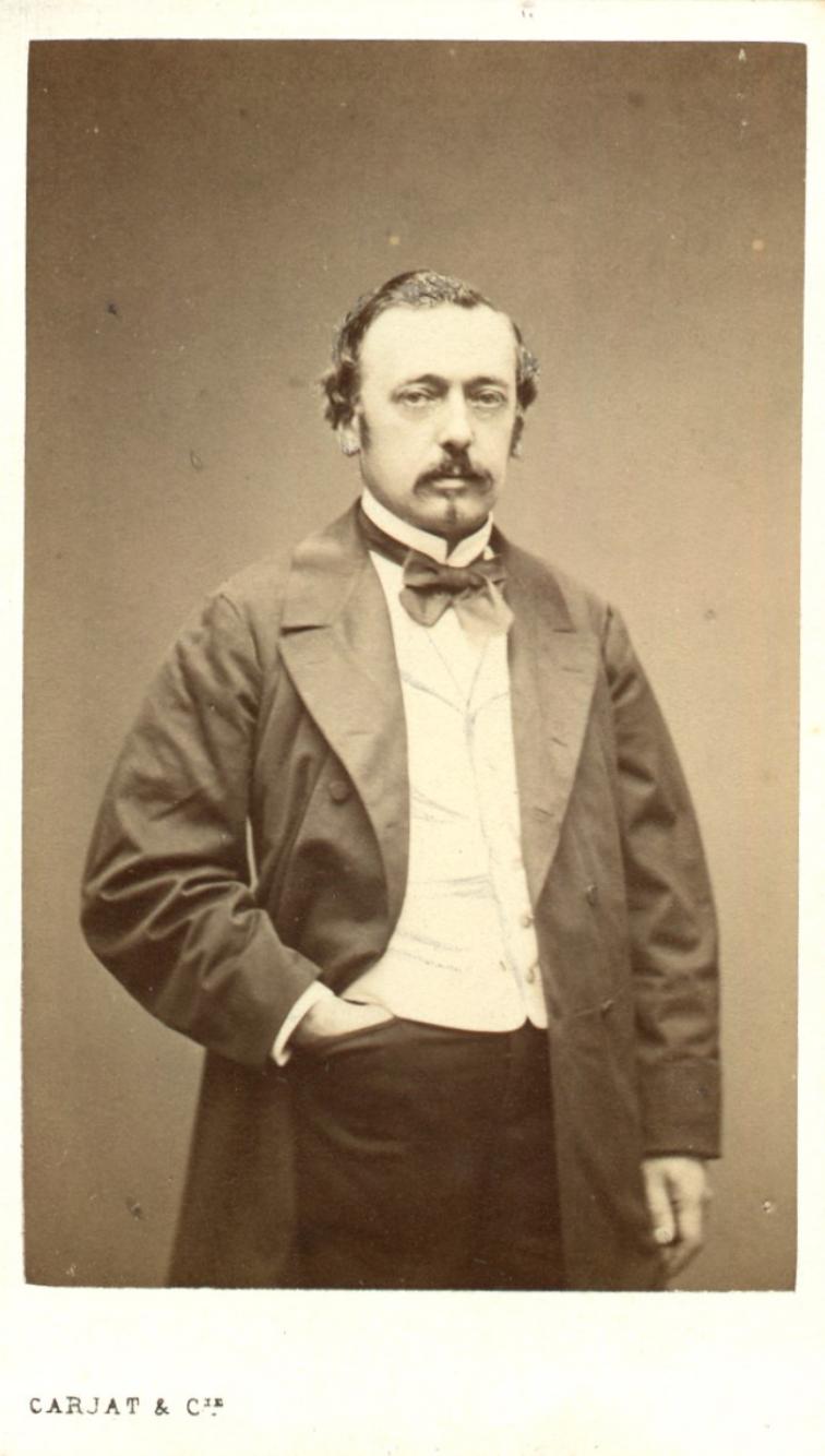 Gustave Cluseret par Carjat
