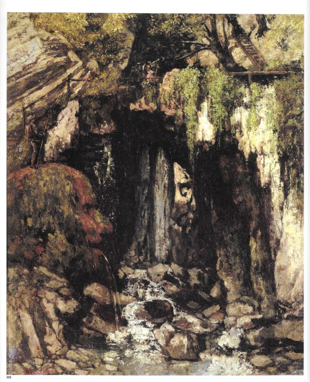 La Caverne des Géants / Gustave Courbet / Amiens, Musée de Picardie