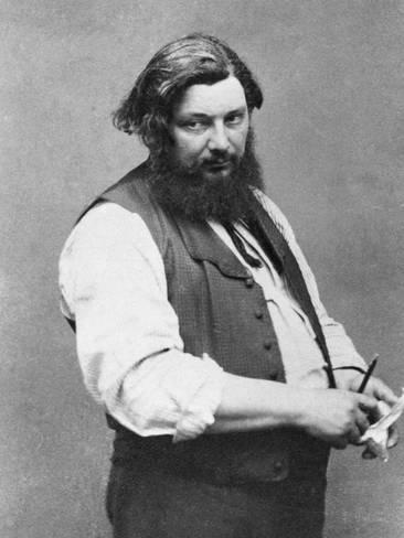 Gustave Courbet par Nadar