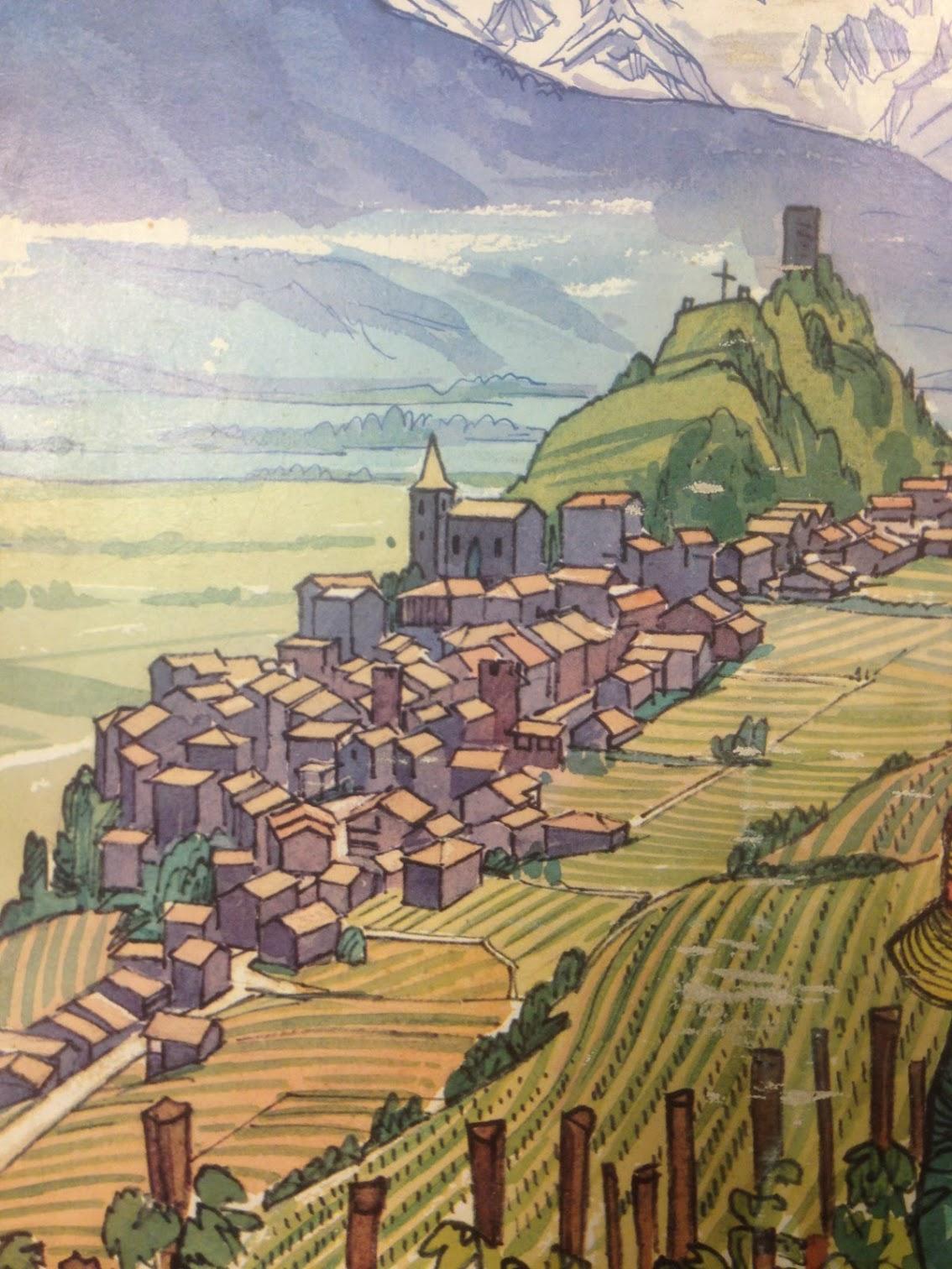 """Saillon, élu """"Plus beau village de Suisse Romande"""""""