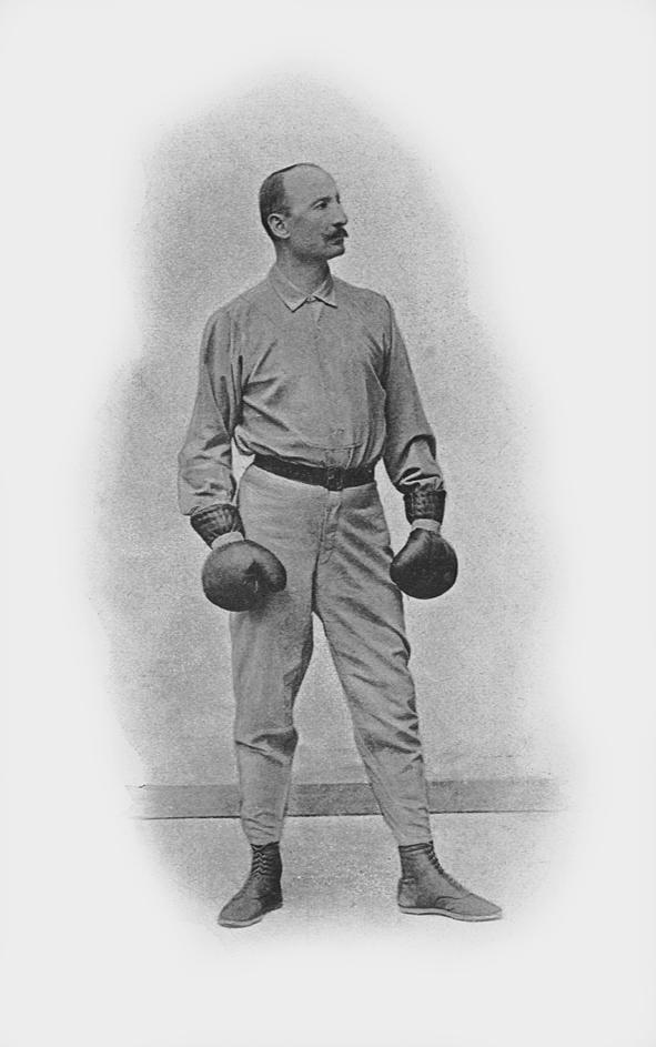 Joseph Pierre Charlemont ( 1839-1929?), Communard, maître d'armes et entraîneur de boxe française.