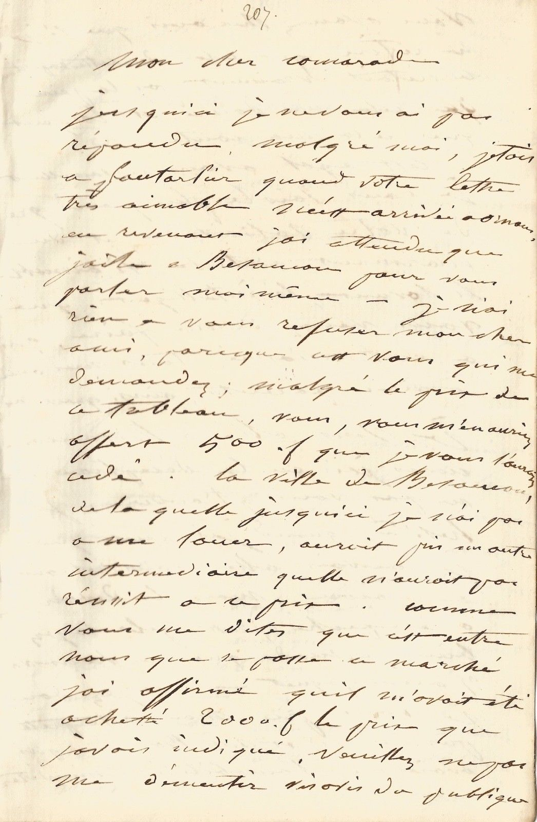 une nouvelle lettre in dite de gustave courbet gustave courbet en suisse 1873 1877. Black Bedroom Furniture Sets. Home Design Ideas