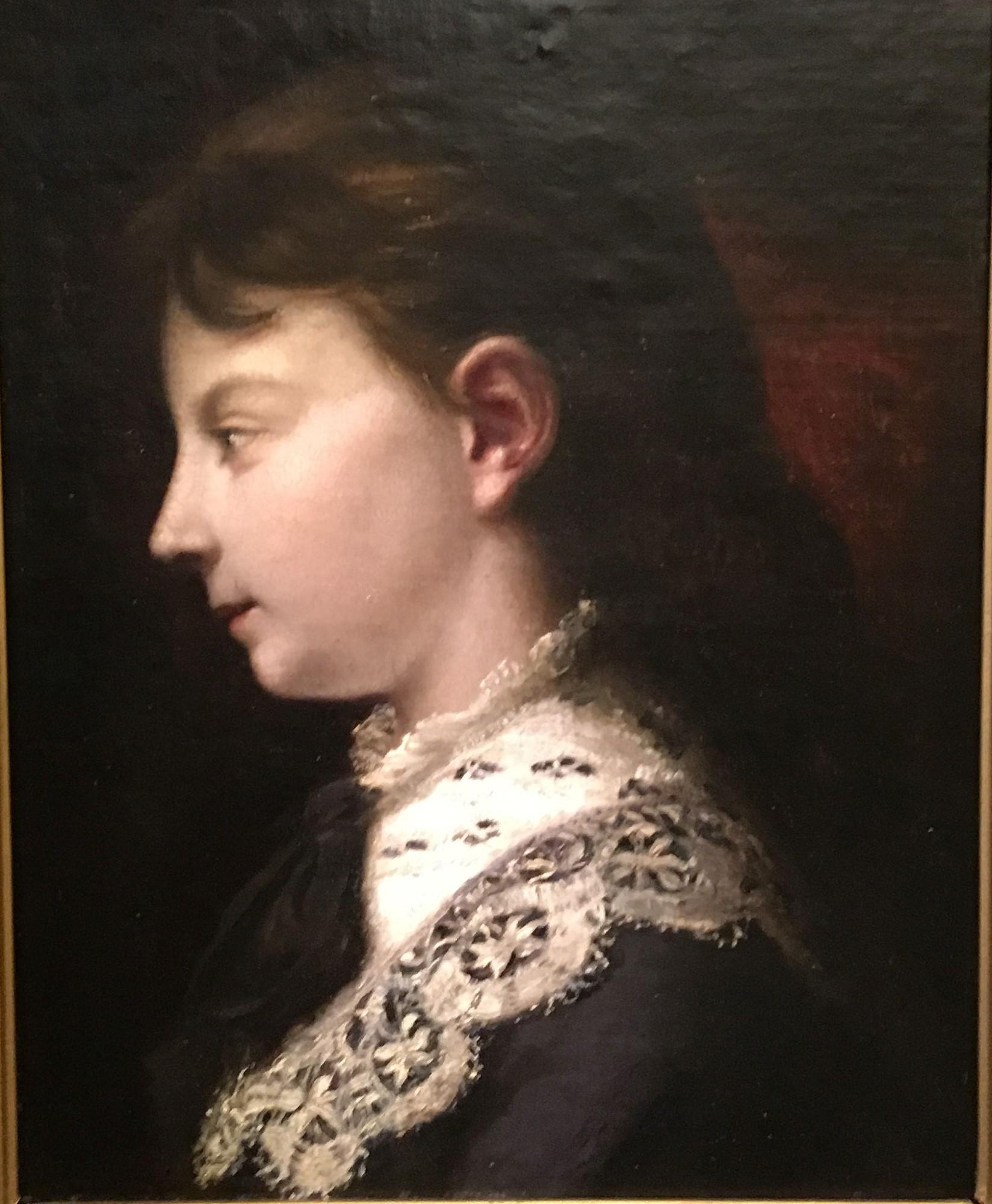 Portrait de Juliette Courbet par Gustave Courbet