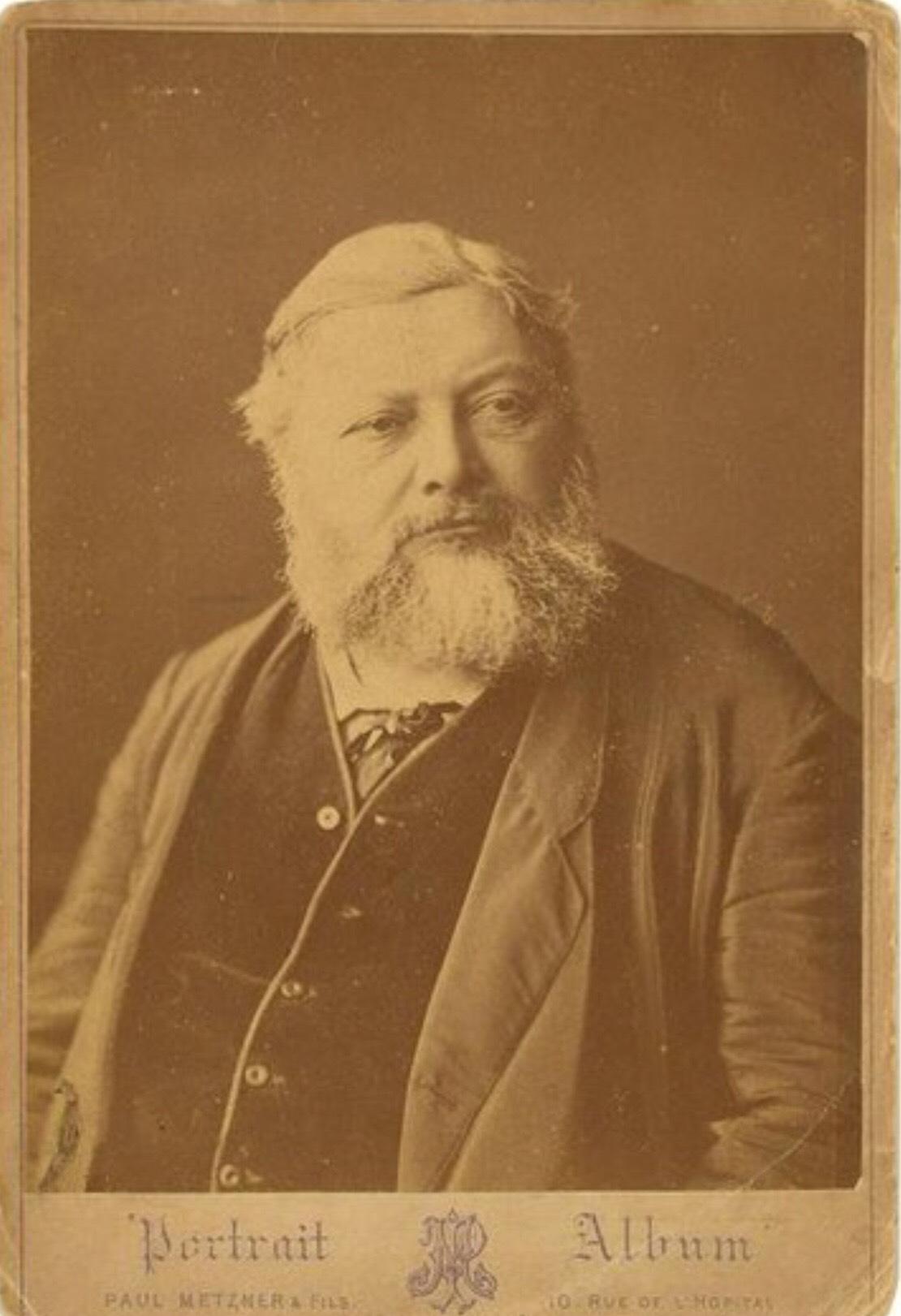 Photographie de Gustave Courbet