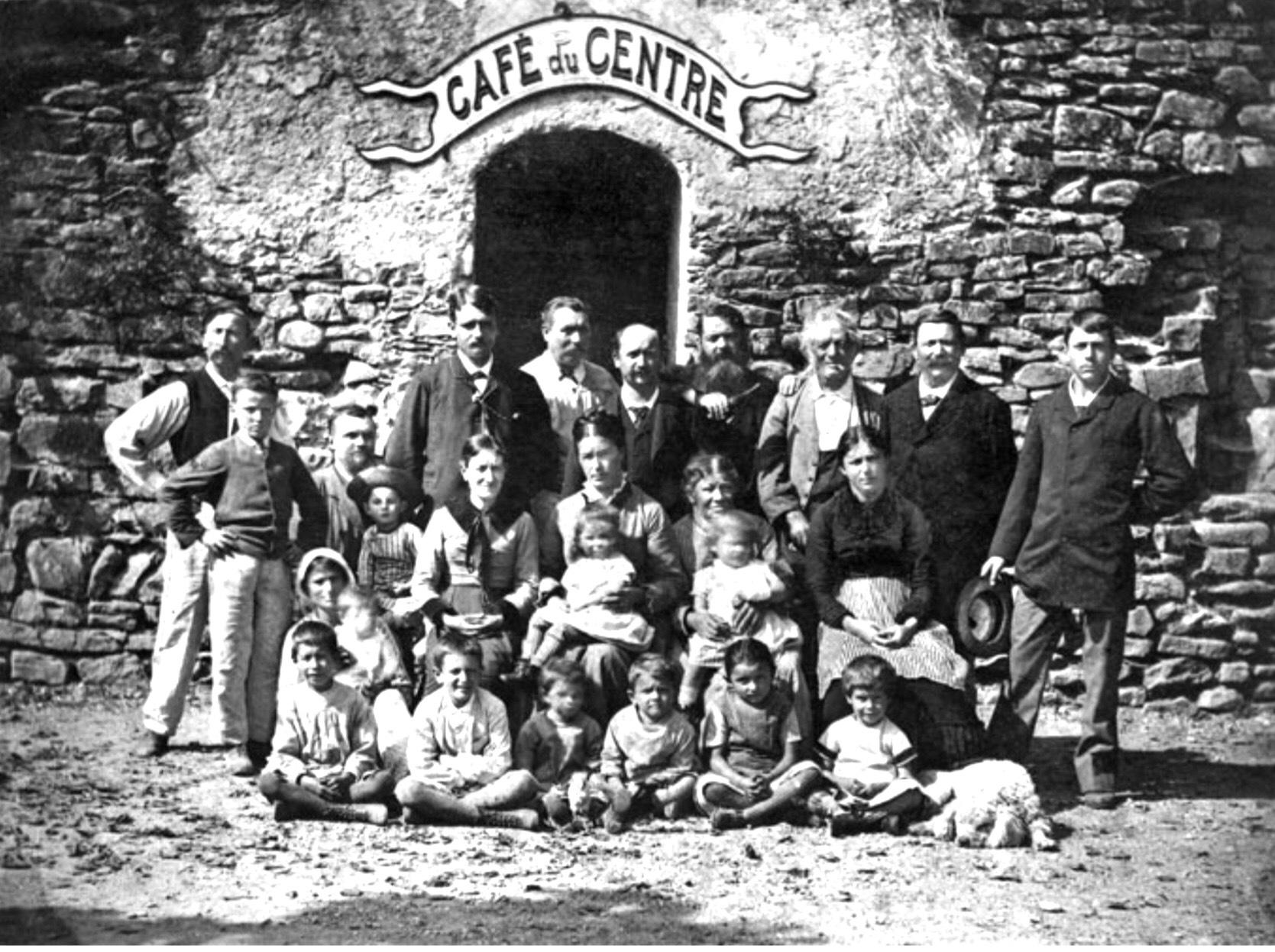 Gustave Courbet / Café du Centre / La Tour de Peilz